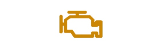 Orange engine icon.